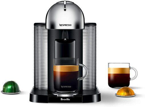 Breville BNV220CRO1BUC1 Vertuo Coffee and Espresso Machine, normal, Chrome
