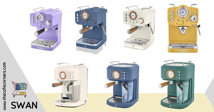ماكينة القهوة سوان