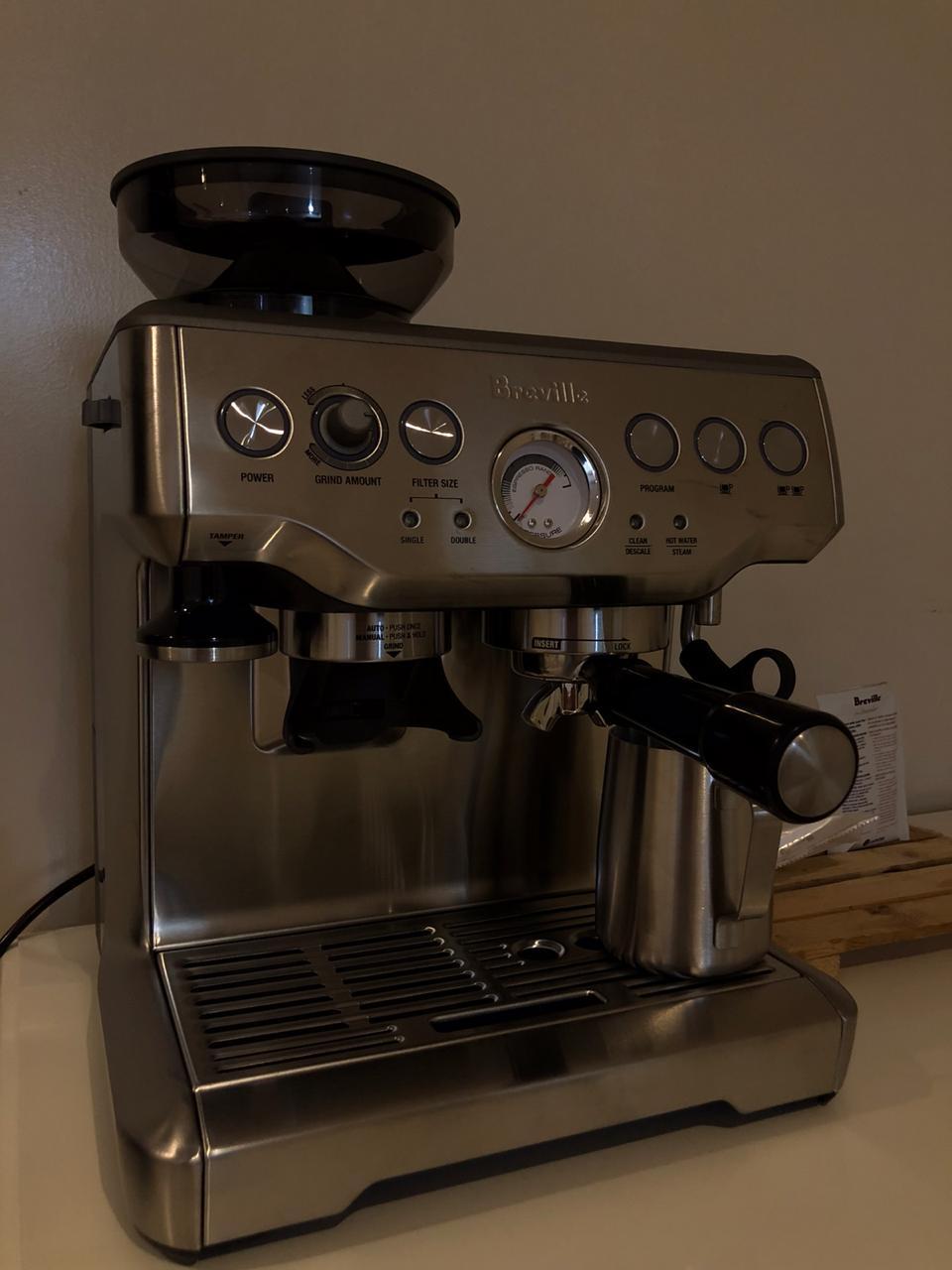 مكينة بريفيل باريستا للبيع حراج القهوة مجتمع القهوة